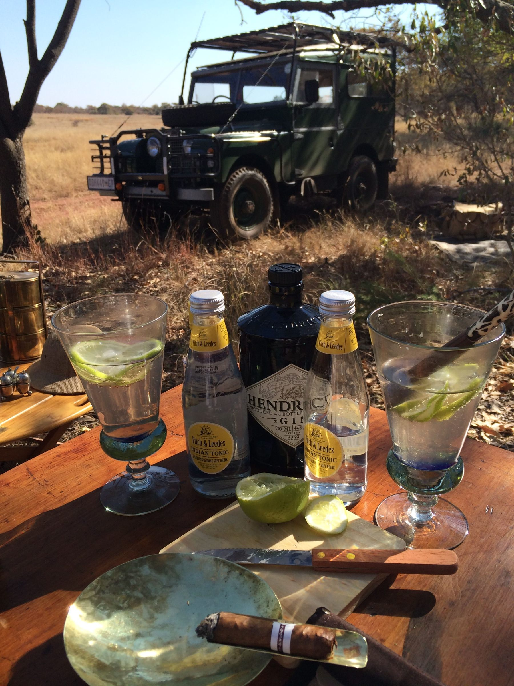 History of the Gin & Tonic and the sundowner
