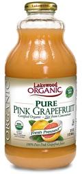 Lakewood Organic Cold-Pressed Grapefruit Juice