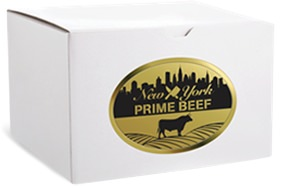 New York Prime Beef steaks