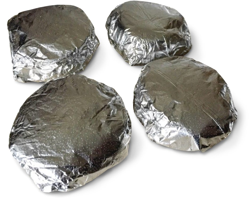 Wrap your breakfast sandwiches in foil and freeze
