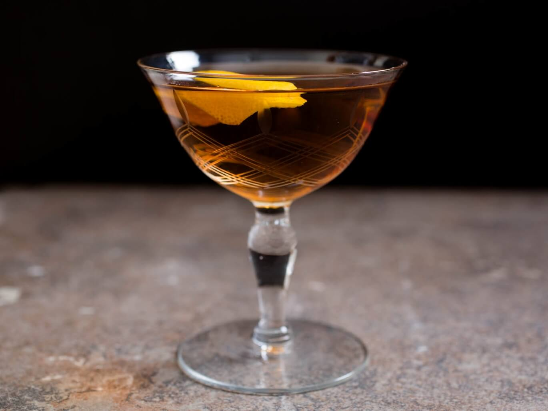 The Martinez cocktail recipe