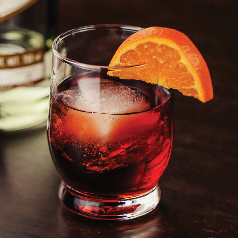 Mezcal Negroni cocktail recipe