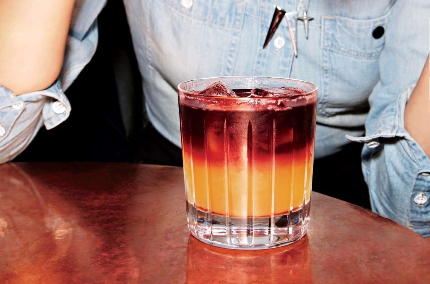 The New York Sour cocktail recipe