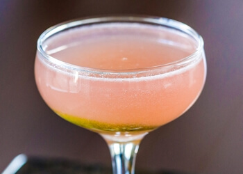 A Smoky and Sweet Cocktail