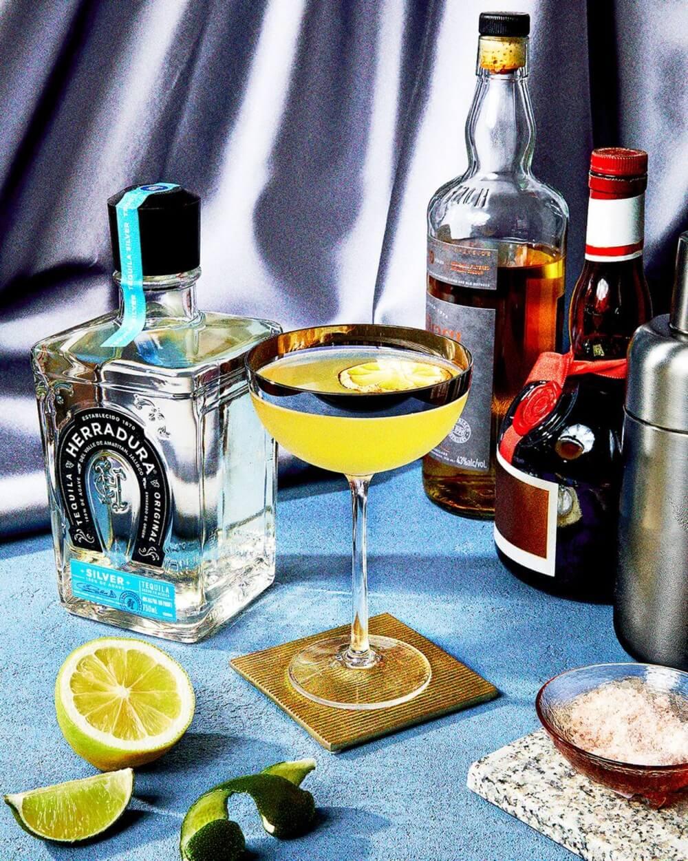 The Smoky Margarita cocktail recipe