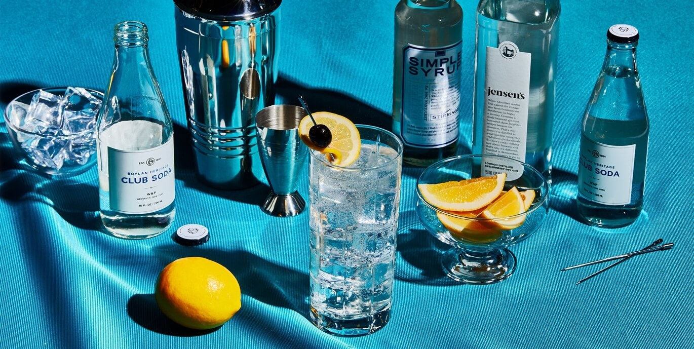 The Tom Collins cocktail recipe