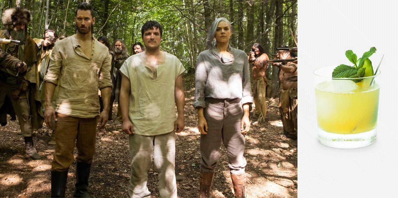 Josh Hutcherson, Eliza Coupe and Derek Wilson in Future Man