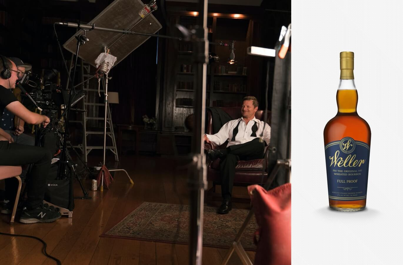 Neat: The Story of Bourbon movie and Weller Full Proof bourbon