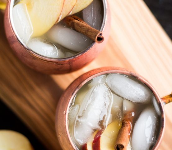 Apple Cider Irish Mule cocktail recipe