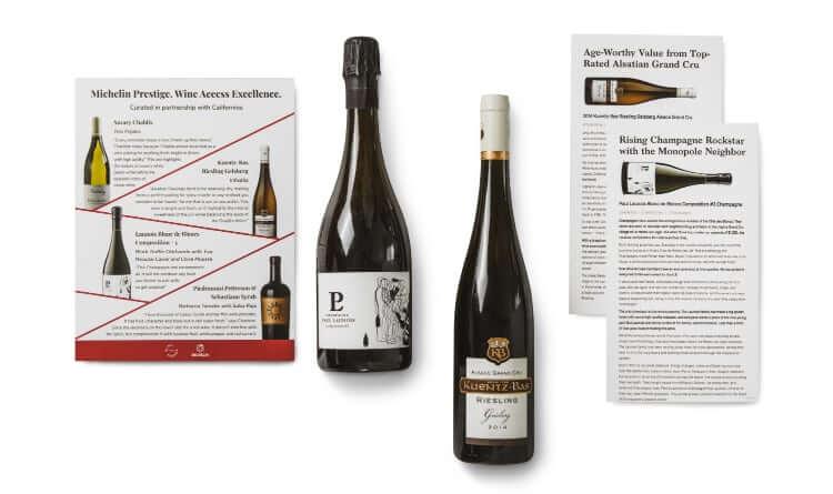 Wine Access Michelin starred bottles