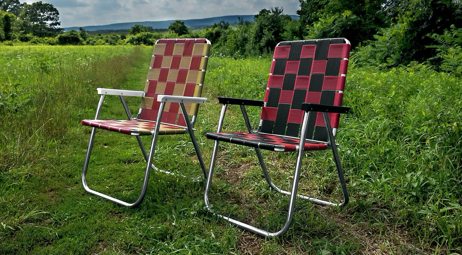A Brief History Of The Aluminum Webbed Lawn Chair Valet