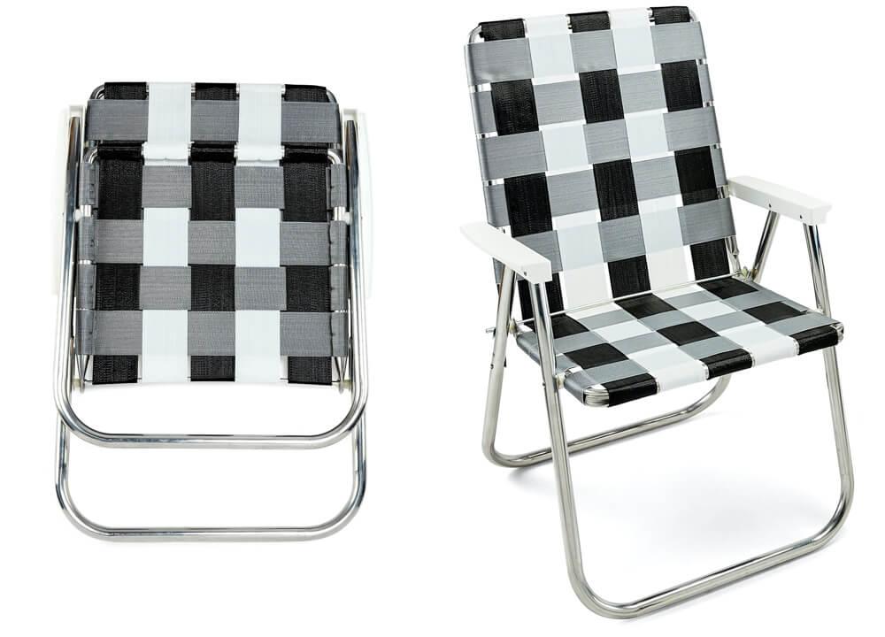 Lawn Chair USA Aluminum Webbed Lawn Chair