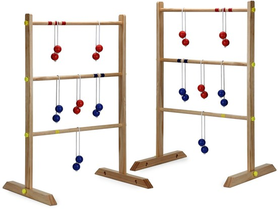 Hathaway Solid Wood Ladder Toss Game