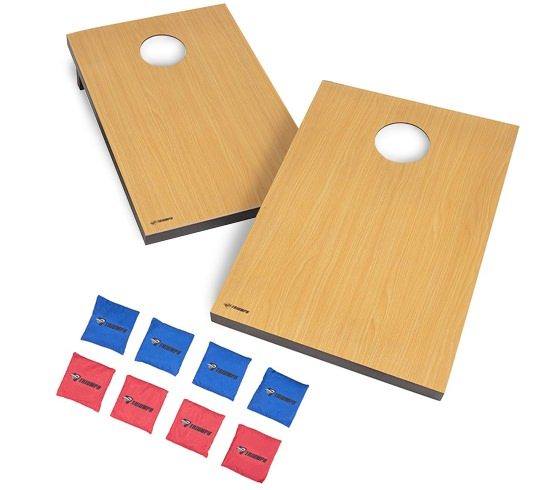 Triumph Sports Foldable Wooden Bean Bag Toss Set