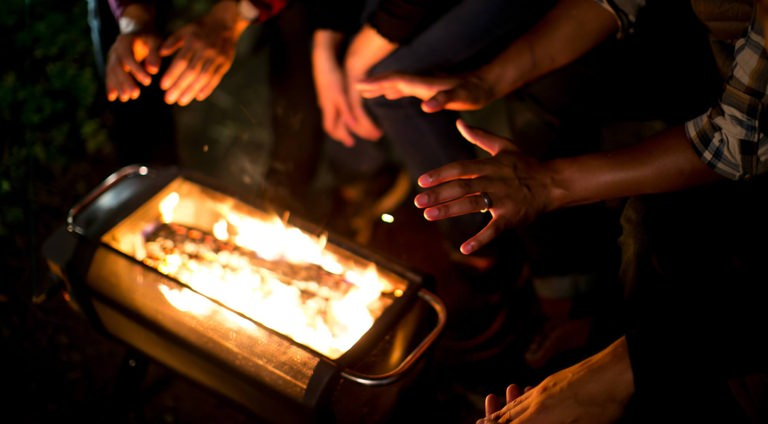You Need This Portable Fire Pit in Your Life