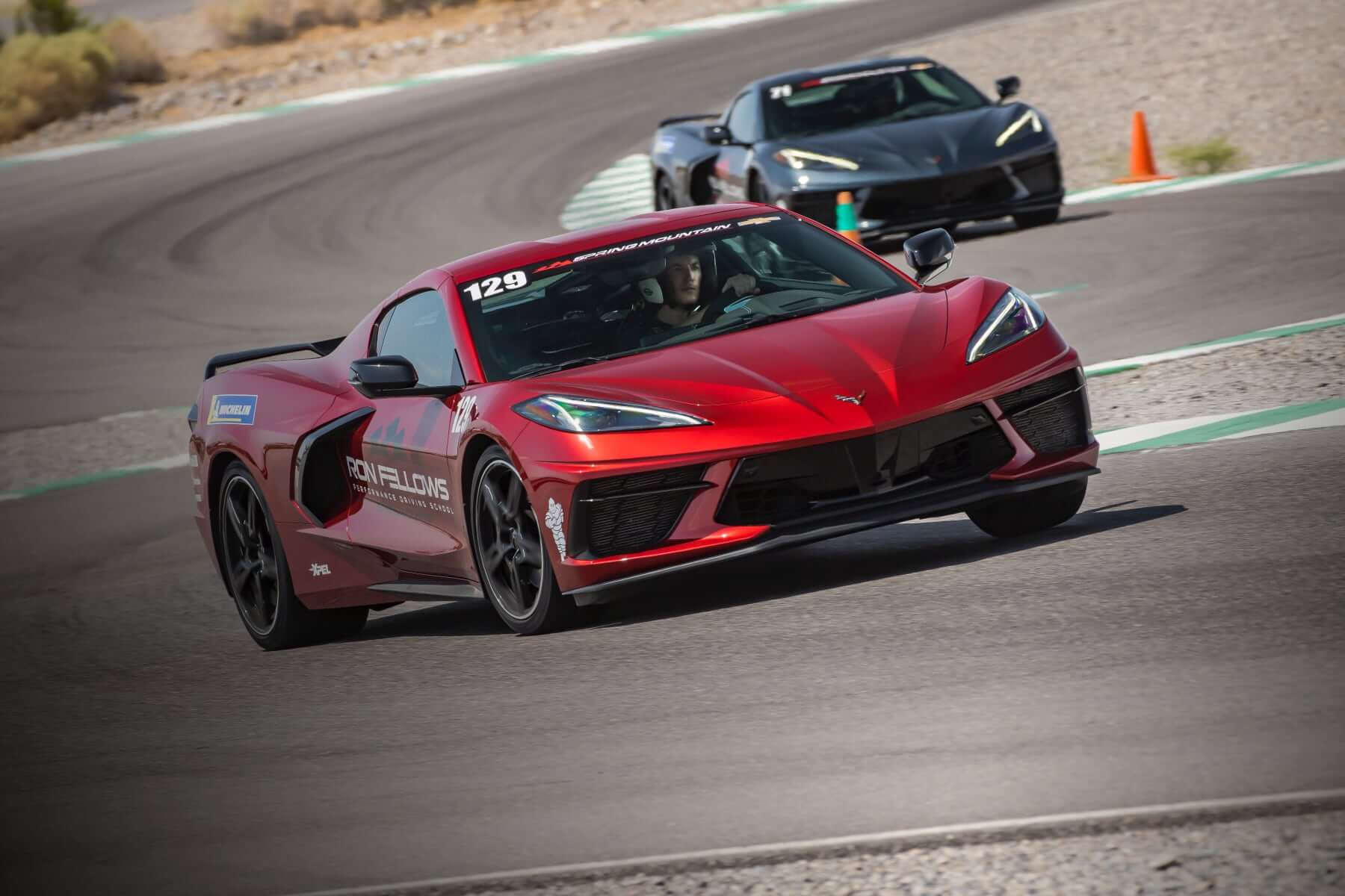 Test driving the Corvette 2021 Stingray