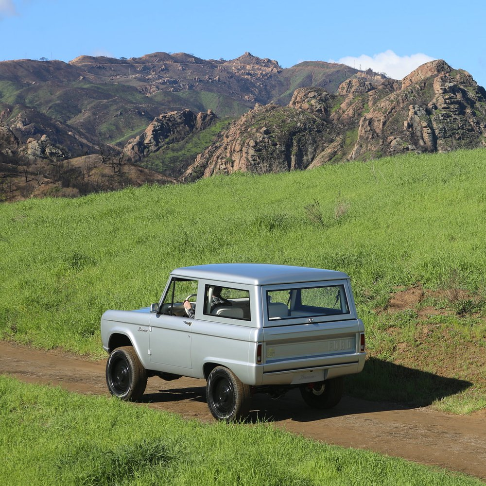 Meet the All-Electric Classic Bronco