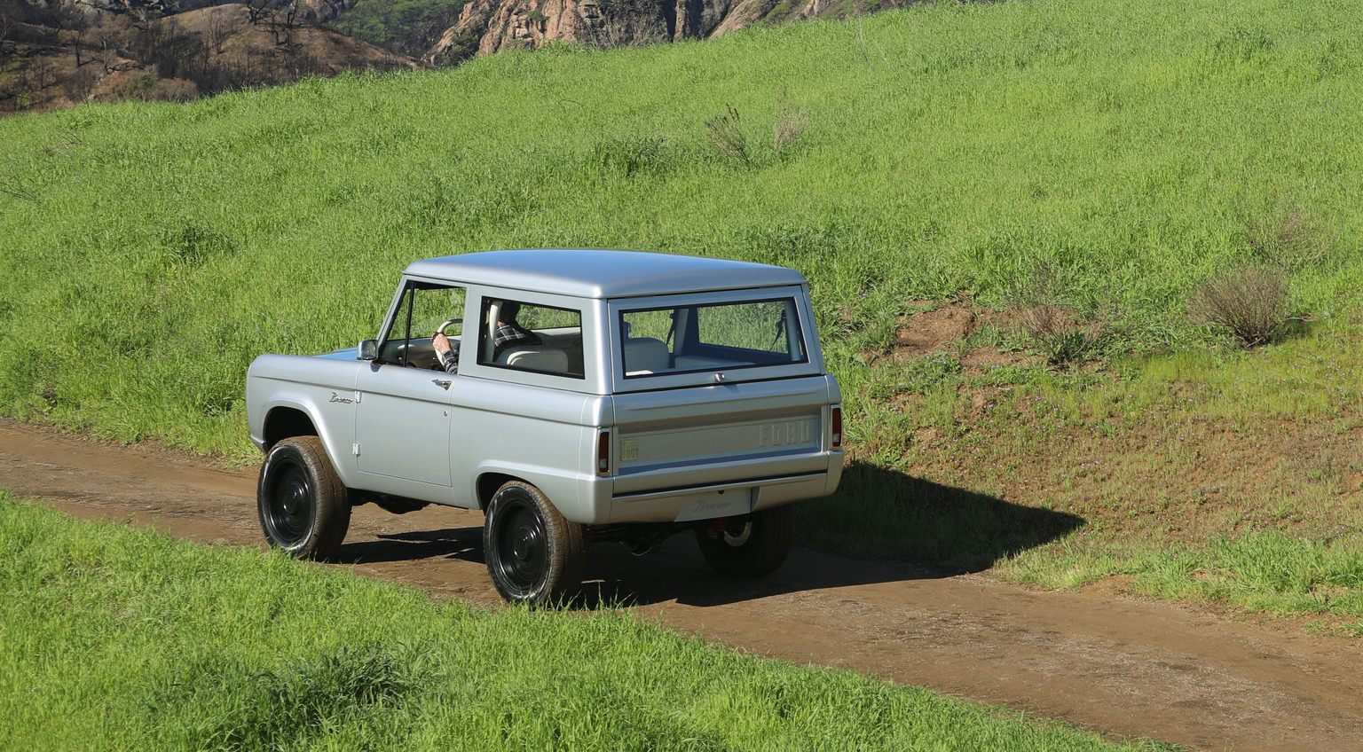 The All-Electric Classic Ford Bronco By Zero Labs