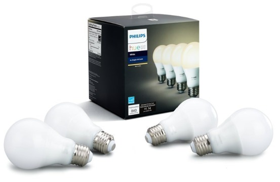 Philips Hue App-Connected LED Bulbs