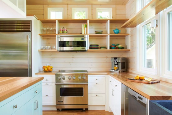 Why you should remove your kitchen cabinet doors