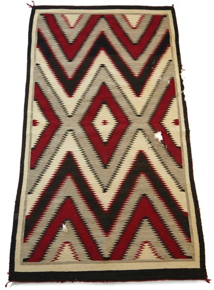 King Kennedy Rugs 3x6 Navajo Rug