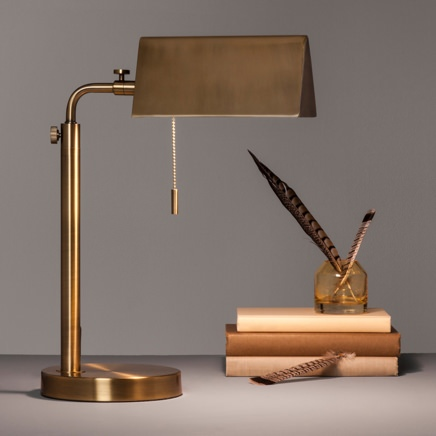 Hearth & Hand Brass Library Task Lamp