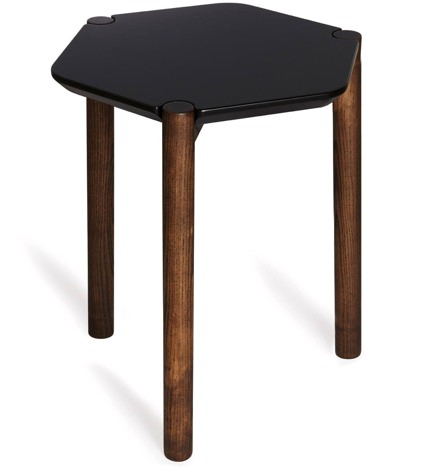 Umbra Luxy Walnut Side Table
