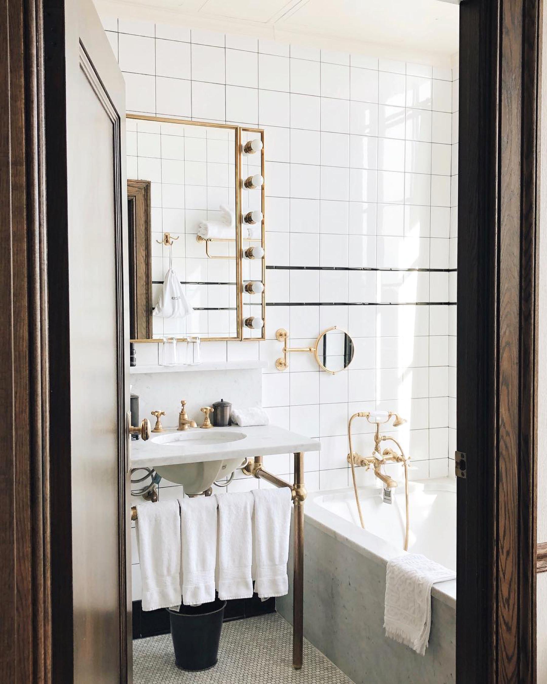 Ludlow Hotel New York bathroom