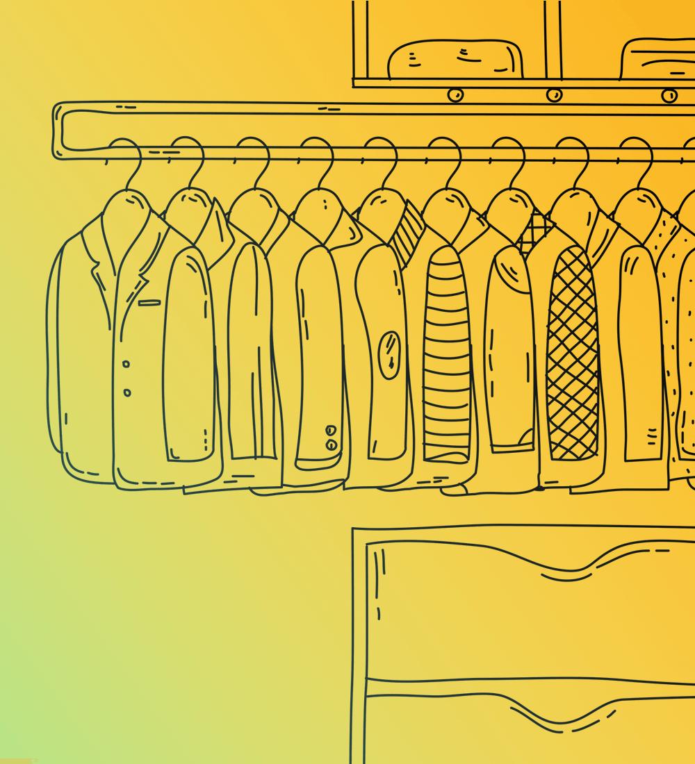 Closet illustration