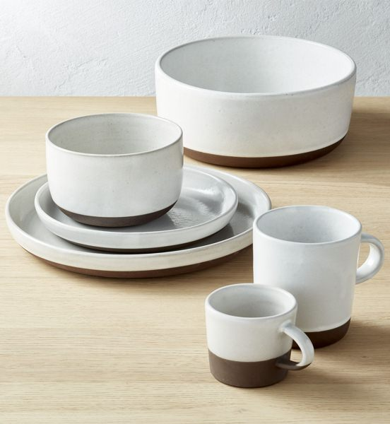 CB2 4-Piece Dish Set