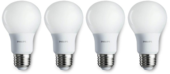 Philips Soft White LED Lightbulbs