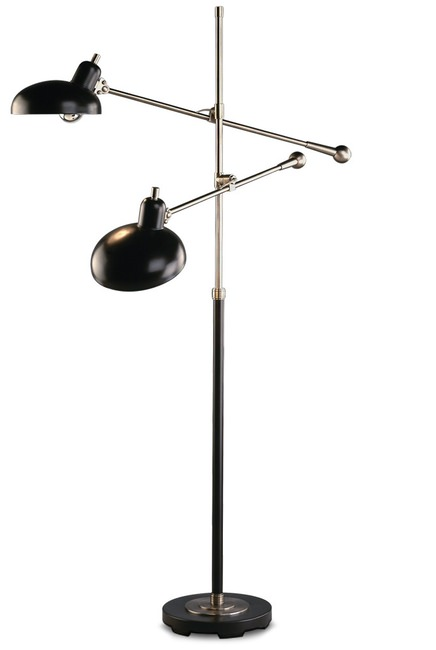 Rejuvenation Bruno Double-Arm Lamp