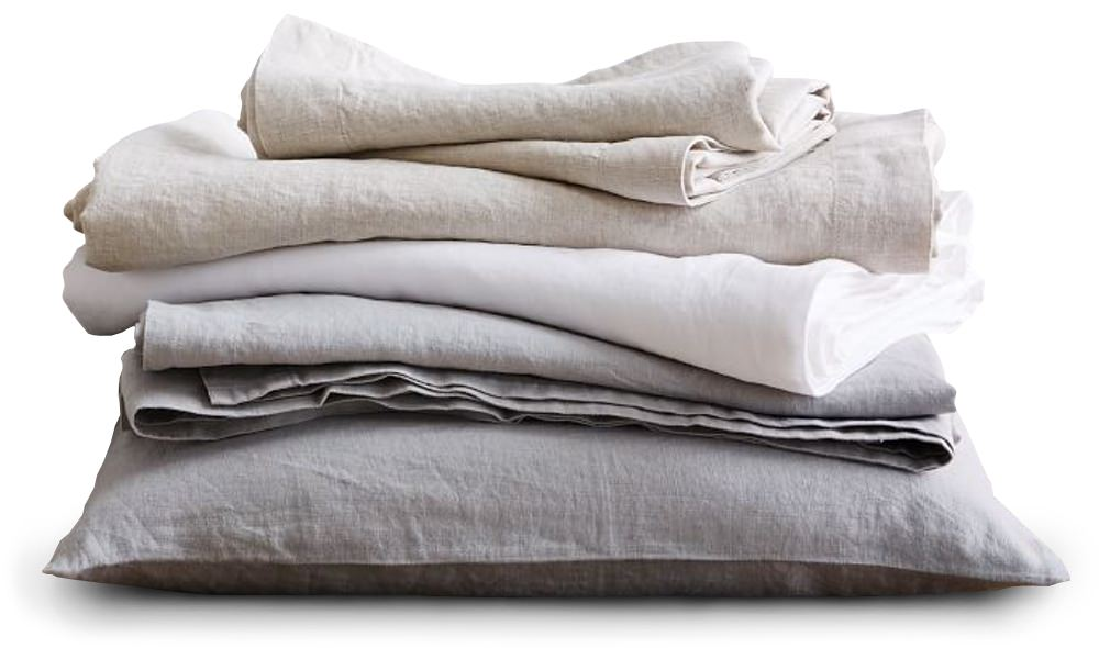 West Elm Individual Linen Bedding Components