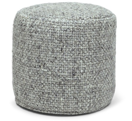 Article Woven Wool Ottoman