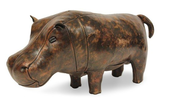 Omersa for Abercrombie & Fitch Leather Hippo