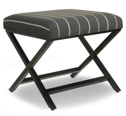 Target Upholstered X-Bench