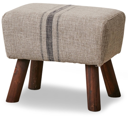 Urban Outfitters Thelma Upholstered Footstool
