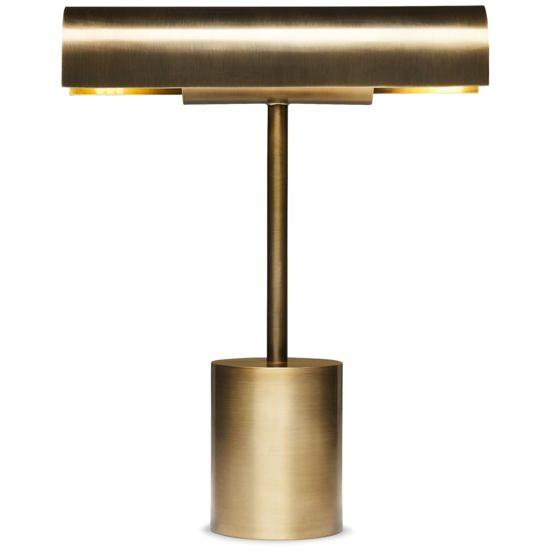 CB2 Lecture Bronze Lamp