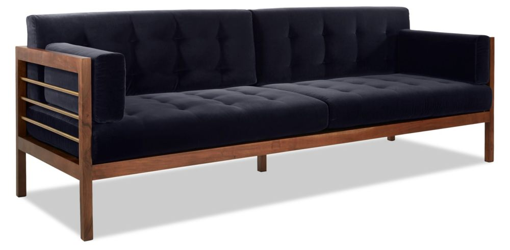 Fred Segal for CB2 Hollywood Velvet Sofa