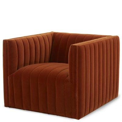 Jayson Home Leo Swivel Chair