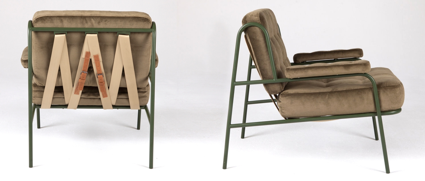 Sean Woolsey Studio Campbell Lounge Chair