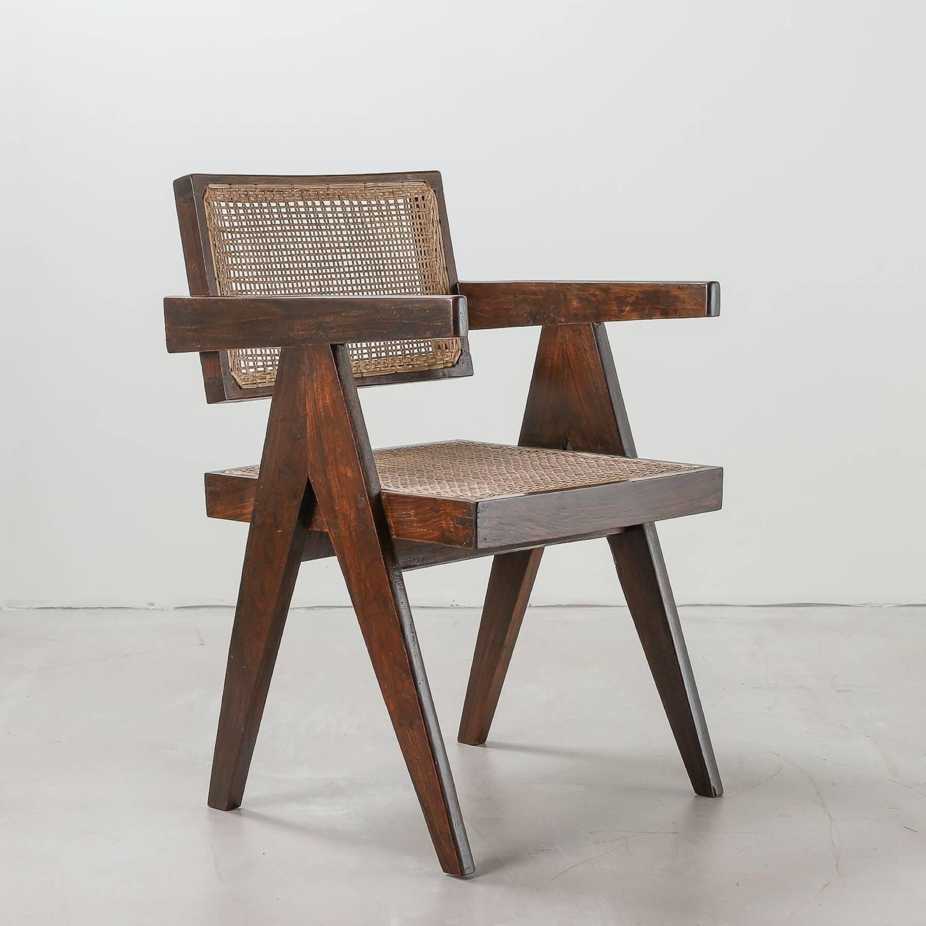 Original Pierre Jeanneret office chair