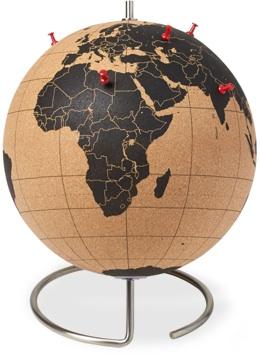 CB2 Trackable Cork Globe