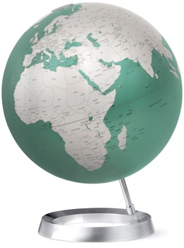Design Within Reach Digitally-Mapped Aluminum Globe