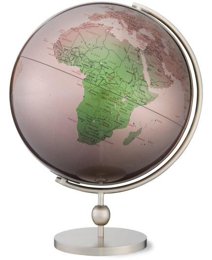 Replogle Silver-Finished Valencia Globe