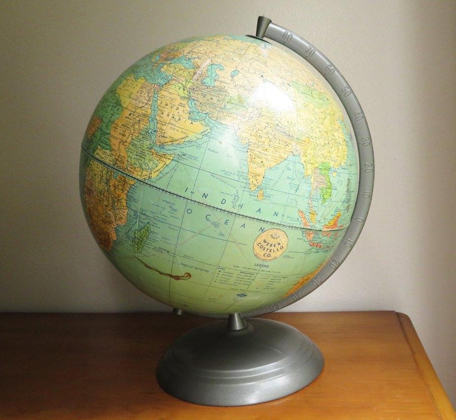 Weber Costello Midcentury Globe