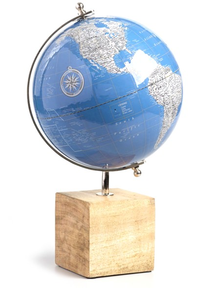 World Market Lacquered Globe