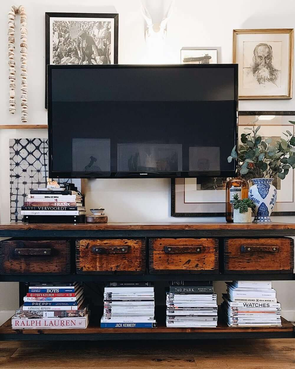 Creating a gallery wall with your television