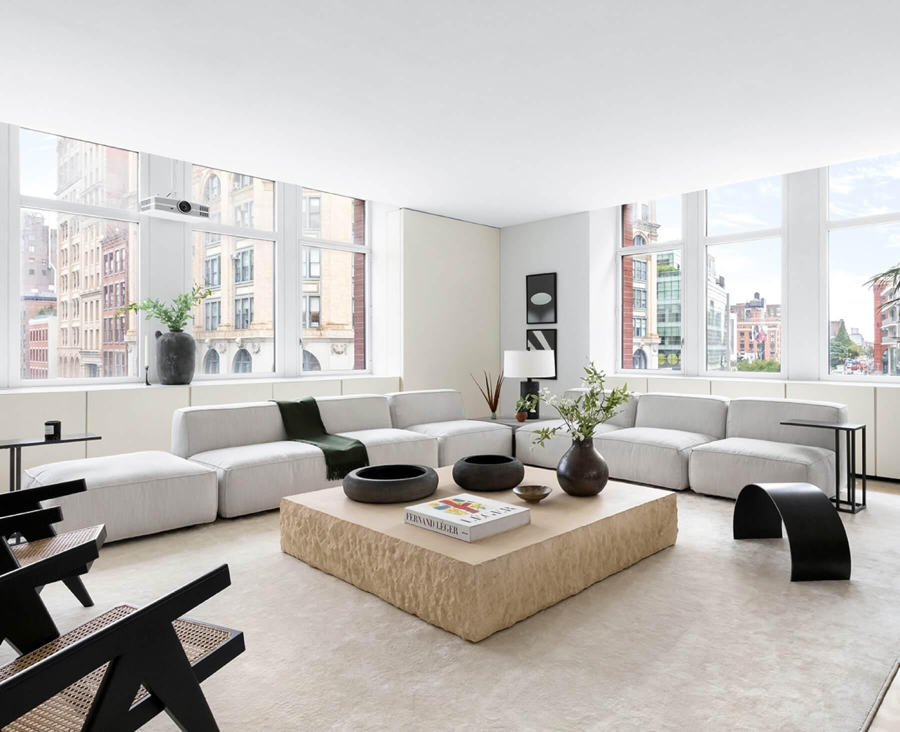 Kanye West SoHo apartment at 25 West Houston Street