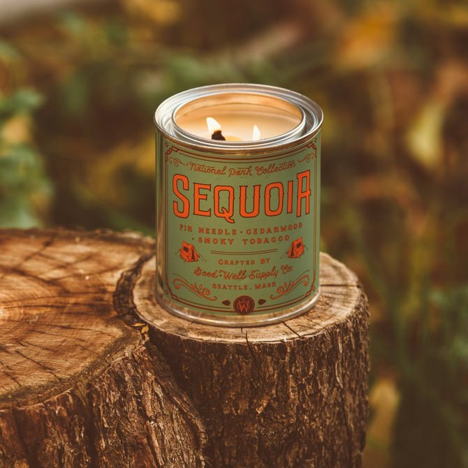 Good + Well Supply Co. Sequoia National Parks Candle